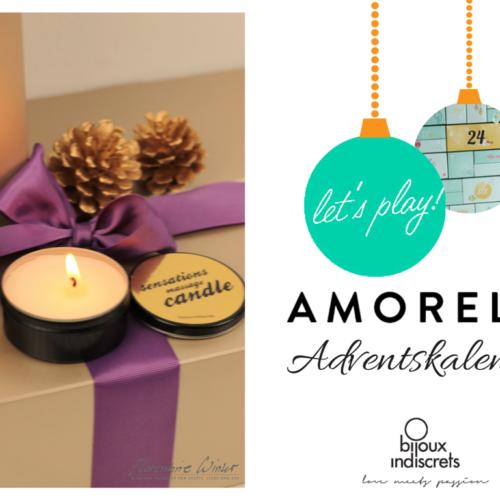 Amorelie Adventskalender Tür #18 - Massagekerze Bijoux Indiscrets