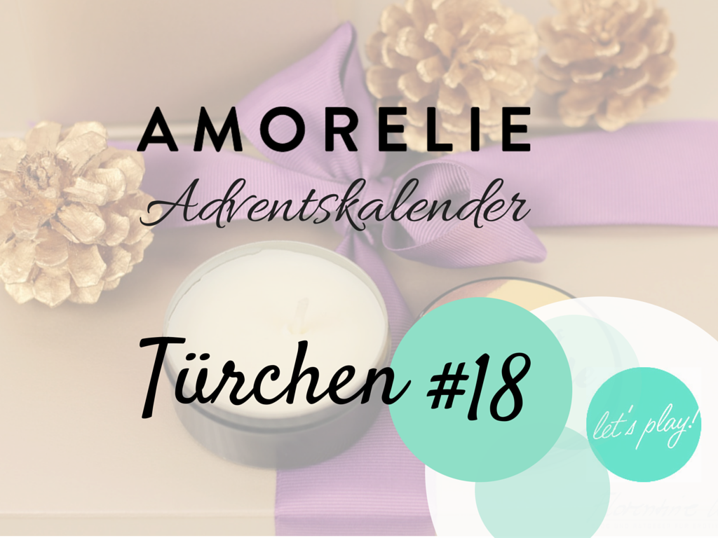 Amorelie Adventskalender Tür #18