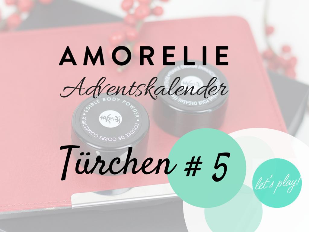 Inhalt des Amorelie Adventskalender Türchen 5 - Shunga Produkte