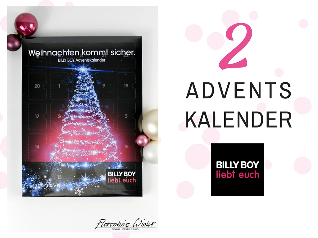 Abbildung des Adventskalenders von Billy Boy 2015