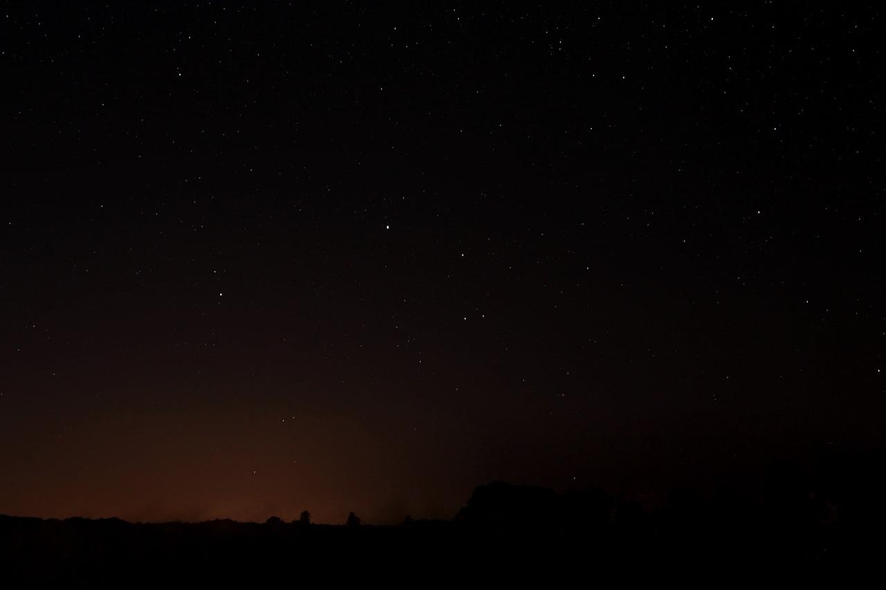 erotische Sommer Geschichte - Sternenhimmel