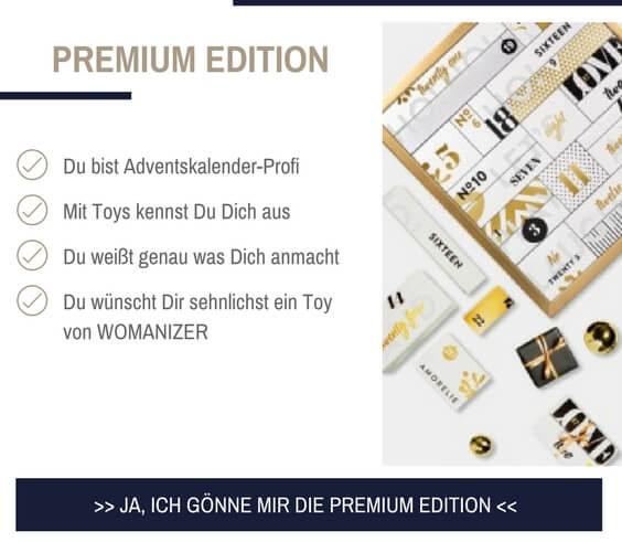 Gönn Dir den Amorelie Adventskalender 2017 in der Premium Edition