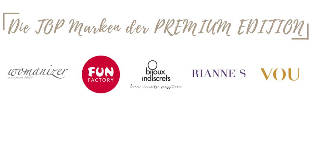Marken im Amorelie Advetnskalender 2017 Premium Edition
