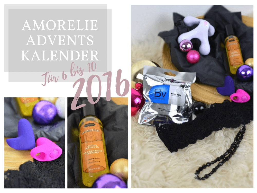 Amorelie Adventskalender 2016 Inhalt - Tür 6 bis 10 im Detail