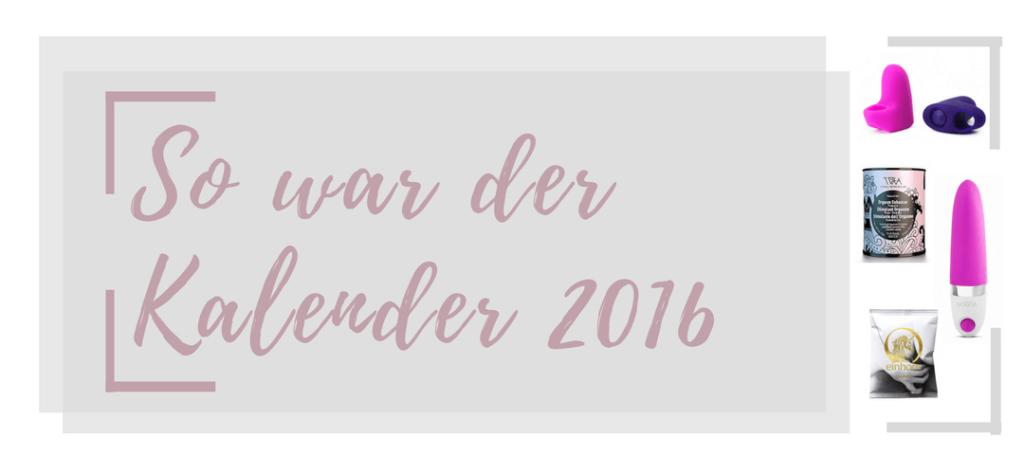 So war der Amorelie Adventskalender 2015 - entdecke den Inhalt aller Türchen des Kalenders von 2016