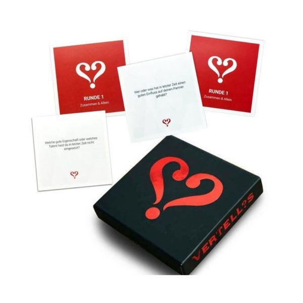 Vertellis Kartenspiel für Paare